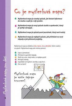 Výsledek obrázku pro myšlenkové mapy na 1. stupni Maps For Kids, School Humor, Learning Games, Funny Kids, Language, Mindfulness, Teacher, Classroom, Student