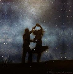 He loved her without desperation and needs and wants. With his naked soul, he loved her, and dreamt of her clothed in white dancing beneath the moonlight as the stars grew jealous of the way she moved
