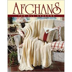 Afghans For All Seasons, Book 2 - Leisure Arts