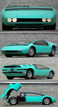 Unique and creative Bizzarrini Manta, … – Sport Cars Auto Retro, Roadster, Weird Cars, Futuristic Cars, Automotive Design, Car Car, Amazing Cars, Hot Cars, Custom Cars