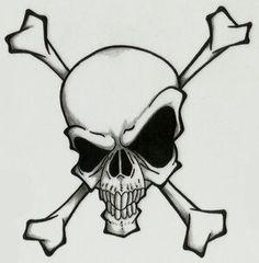 Skull and crossbones 7