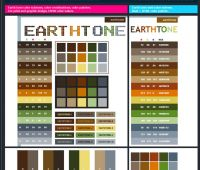 """12 Awesome Websites With """"Earthy Tones"""""""