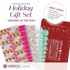 Jamberry Australia Day Wraps - Australia Fair Desert Dance And Sticky Wicket Are The Perfect ...