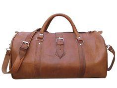 XL+Handmade+Leather+Travel+bag+vintage+handbag++by+Casami2012,+$96.99