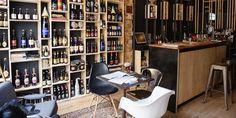 Bar e loja conceitual de cerveja belga