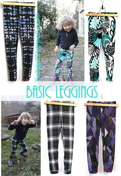 Basic Leggings One-piece leg extremely versatile PDF sewing pattern (use for long johns, pj...) SergerPepperShop on Etsy, $ 7.00 Use the discount code   *** OPENFORBUSINESS50 *** for a Crazy Huge  50% discount... but hurry up before I change my mind ;)