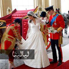 فساتين زفاف ملكية تربعت فيها الملكات والأميرات على عرش الزوجية