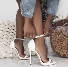 52925b74f13 32 Best Shoes To Wear With Dresses images in 2017 | Trousers women ...