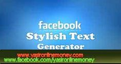 Stylish text art generator for Facebook and online graffiti creator