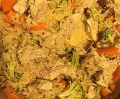 Putencurry mit Reis und Gemüse by ChacolinePoldman on www.rezeptwelt.de