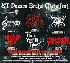 maquina profana fest: 25/06/2016 - XI Passos Brutal Metalfest: Passos - ...