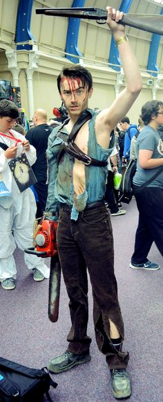 evil dead army of darkness ash williams cosplay