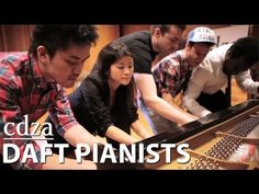 Daft Pianists This is really neat! It's a creative work of God, whether these kids know it or not! God is global--and awesome!! With Jesus' Compassion 4 America! (& the world!) Soteria (& Jesus!!)