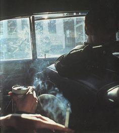 Nan Goldin Smokey Car New Hampshire 1979