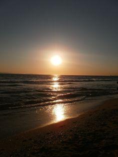 Huntington Beach, California. The weather is already perfect