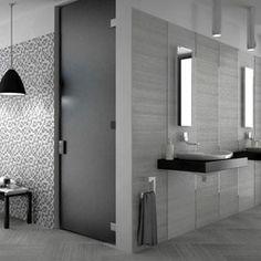 Carrelage mural taupe cemento 25 x 40 cm castorama sdb - Castorama carrelage mosaique ...