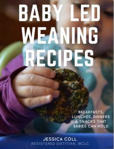 45 Amazing BLW Recipe Ideas! Recipe book, book, recipe, recipes, blw, time saving tricks, baby led weaning, ebook, ibook, Jessica Coll, baby, dietitian approved