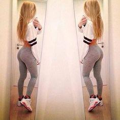 Pinterest: Nicksmine ☯: Body Goals, Fashion, Girl, Style, Fitness, Outfit, Yoga Pants, Legging