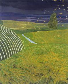 Hans Vandekerckhove (Belgian, b. 1957), Franky's Greenhouse, 2005. Oil on canvas, 200 x 160 cm.