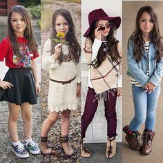 Favorites Tween Fashion, Little Girl Fashion, School Fashion, Toddler Fashion, Cute Little Girls Outfits, Girls Fall Outfits, Toddler Girl Outfits, Toddler Girls, Outfits Niños