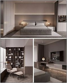163 warm and cozy master bedroom decorating ideas that you need to copy right now 37 Modern Luxury Bedroom, Master Bedroom Interior, Bedroom Closet Design, Modern Bedroom Design, Home Room Design, Luxurious Bedrooms, Home Decor Bedroom, Home Interior Design, Hotel Bedroom Design