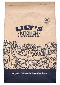 £37.37 Lily's Kitchen Organic Chicken & Vegetable Bake Dog Food
