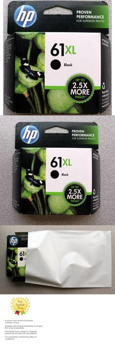 2-PACK HP GENUINE 61XL Tri-Color Ink OFFICEJET 4630 4631 4632 4635 RETAIL BOX