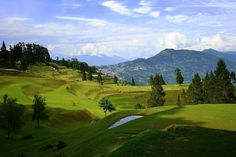 Golf course, Kalimpong, West Bengal