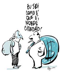 Rico studio / charges . ilustrações . cartuns . quadrinhos: Fardos.