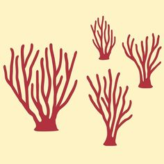 Ocean Sea Coral Wall Decals Kids Underwater by graphicspaces, $20.00