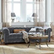 Sofa Parpeville Klassische Eleganz Verströmt Dieses Hochwertige Sofa Im  Unverwechselbaren Chesterfield Stil. Es Ist