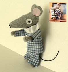 Charlie Mouse from Bagpuss!