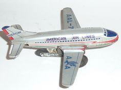 JAPAN - FLUGZEUG AIRPLANE JET - AMERICAN AIR LINES - 60th tin
