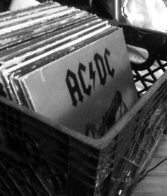 I would love to have a record collection with all those Rock and Roll bands!!