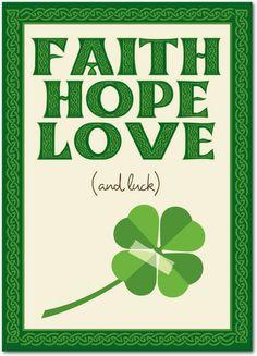 Celtic Knots - St Patricks Day Cards in Shamrock | Magnolia Press