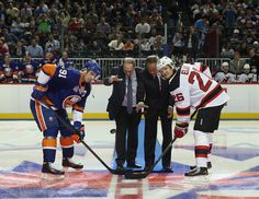 September 21st 2013-First NHL game at Barclays Center in Brooklyn, NY