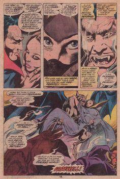 Tomb of Dracula n°46 (Marvel Comics - july 1976). Writer: Marv Wolfman. Illustrators: Gene Colan (Pencils) & Tom Palmer (Inks).