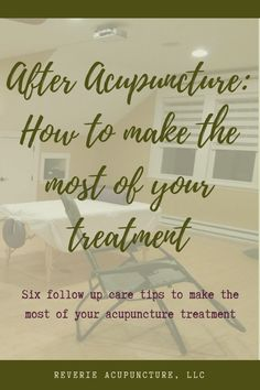After Acupuncture: Making the Most of your Treatment - Reverie Acupuncture Acupuncture Fertility, Acupuncture Benefits, Acupuncture Points Chart, Holistic Medicine, Holistic Wellness, Accupuncture, Clinic Design, Weight Loss Blogs, Traditional Chinese Medicine