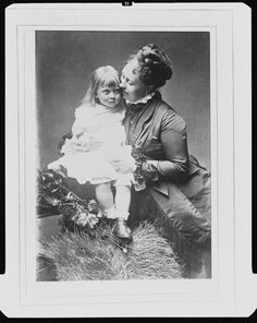 Vicky with daughter Margaret