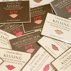 Kiss kiss perfect on the go travel samples  #charlottetilbury