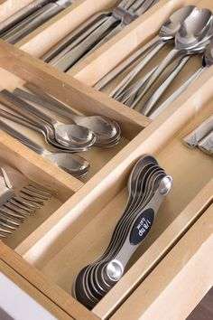 These are definitely a kitchen favorite! Magnetic measuring spoons so they never get lost in your drawer!