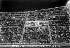 Visão do bairro de Ipanema (1939). Foto Arquivo Museu Aeroespacial Divulgação