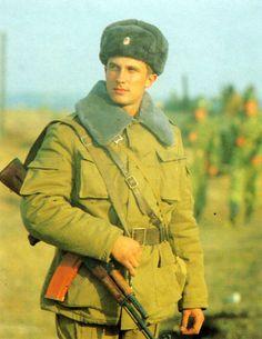 Soviet soldier.