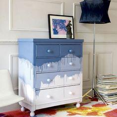 idée pour comment décorer sa chambre avec un meuble rétro, rénovation de vos vieux meubles
