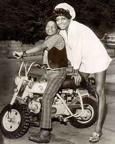 Michael with Diana Ross