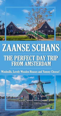 Explore this ultimate guide to Zaanse Schans - what to expect, things to see (original Dutch windmills and lovely wooden houses), museums and yummy cheese! Find out where exactly you can take a photo in an original Dutch costume from 1850 and a great tip to save money on your…