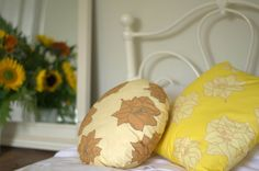 close up of larkspur cushions www.lupinlark.com