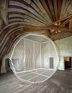 art installation + photography by Georges Rousse