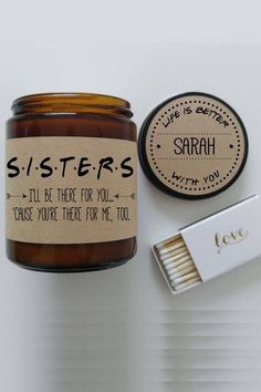 30 Unique Gifts for the Best Sister Ever 25 Best Holiday Gifts for Sisters - Ch. 30 Unique Gifts for the Best Sister Ever 25 Best Holiday Gifts for Sisters - Christmas Gift Ideas for Sisters This image. Sister Christmas Presents, Best Friend Christmas Gifts, Best Friend Gifts, Diy Christmas Gifts, Holiday Gifts, Sisters Christmas Gifts, Homemade Christmas, Christmas Christmas, Christmas Crafts