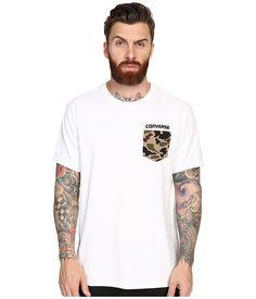 CONVERSE Short Sleeve Camo Pocket Tee. #converse #cloth #shirts & tops